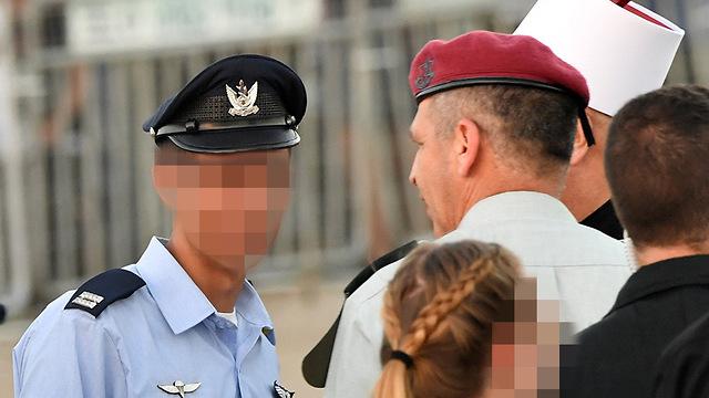 טקס סיום קורס טיס בסיס חצרים צה