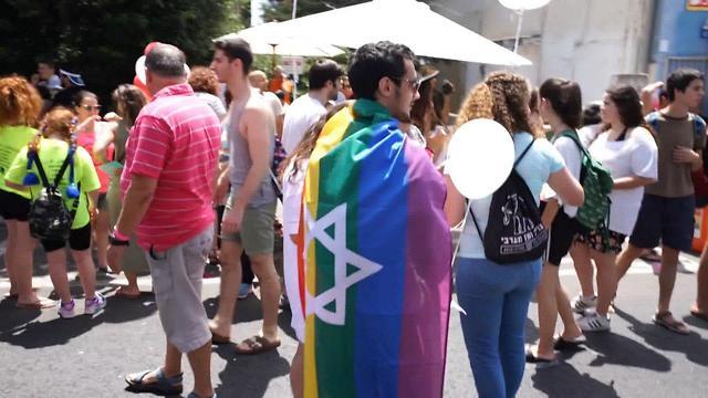 Парад гордости в Хайфе. Фото: Шахар Гольдштейн