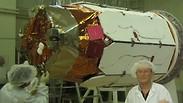 """צילום ממערך השיגור של לווין התצפית """"ארוס"""""""