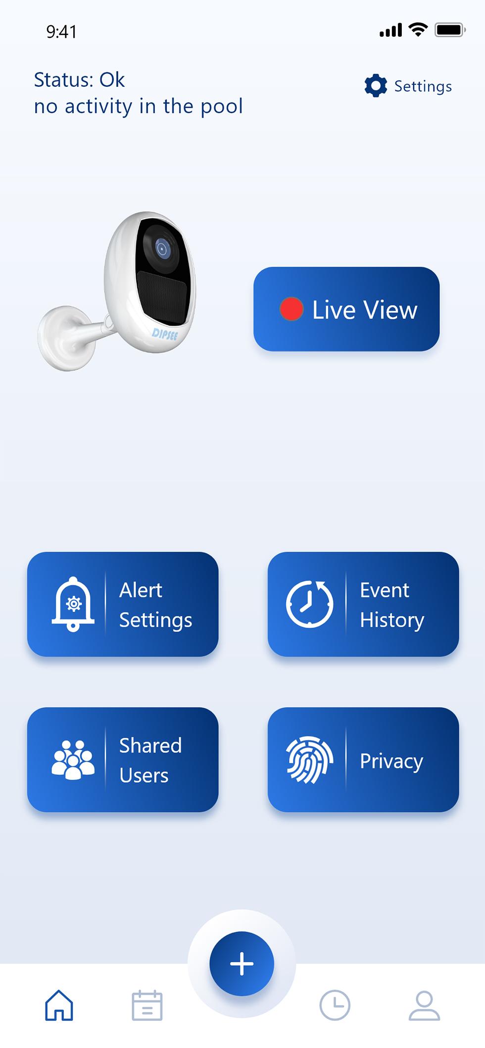 אפליקציה למניעת טביעת ילדים (צילום: יח