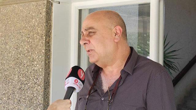 דוד מלול קיבוץ צובה מצביע העבודה בחירות 2019 (צילום:משה מזרחי)