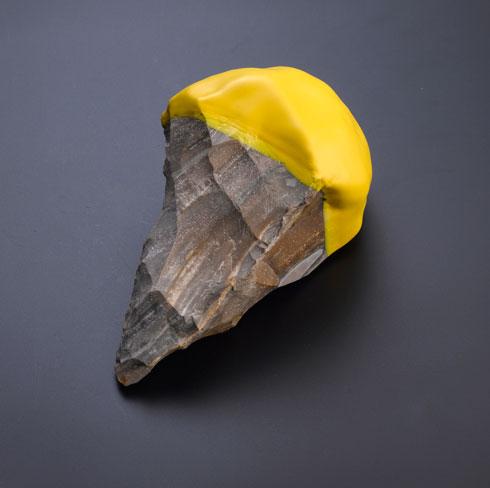 מוזיאון פומפידו קנה שלושה פריטים לאוסף, ועל הכללתם בתערוכה נודע לגנשרוא כמעט במקרה (צילום: מוטי פישביין)