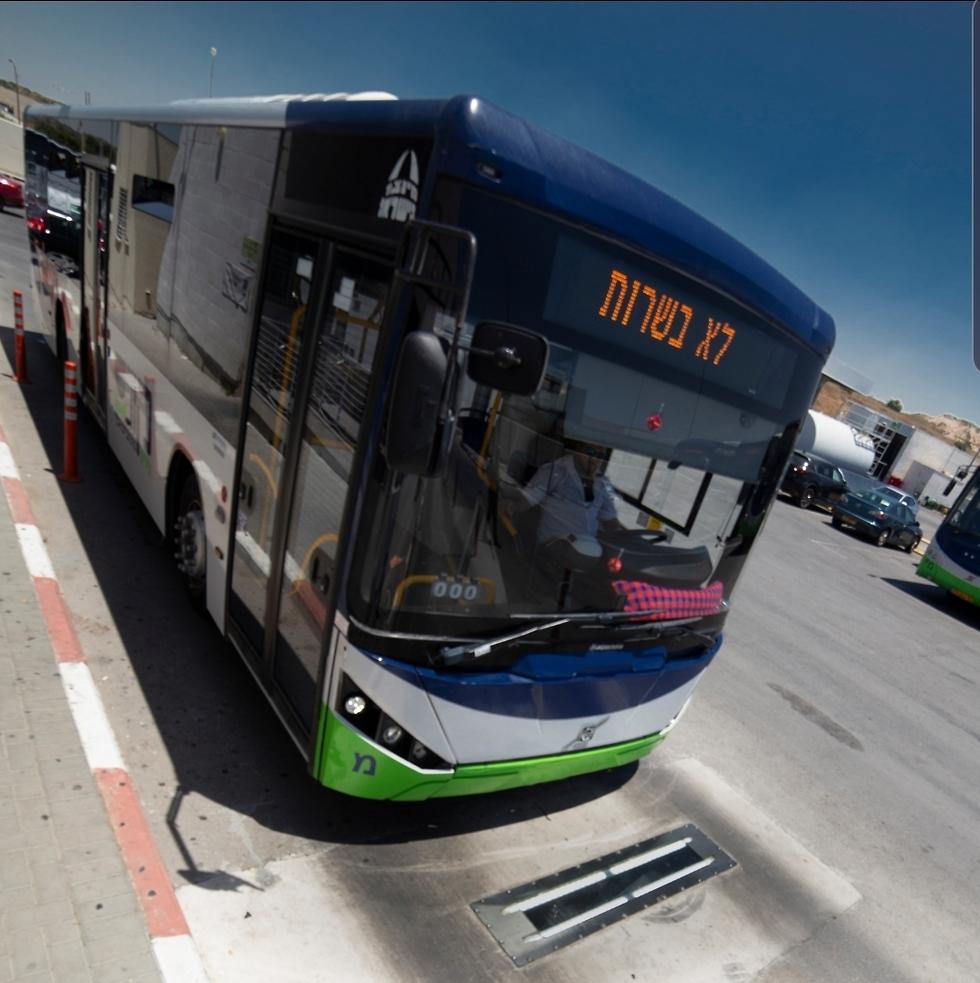 מערכת זיהוי תקלות באוטובוסים (צילום מסך)