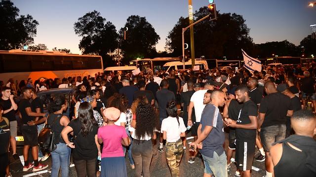 Демонстрация в Беэр-Шеве. Фото: Герцль Йосеф