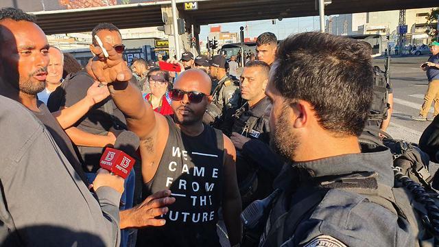 Protests in Kiryat Ata (Photo: Gil Nehushtan )