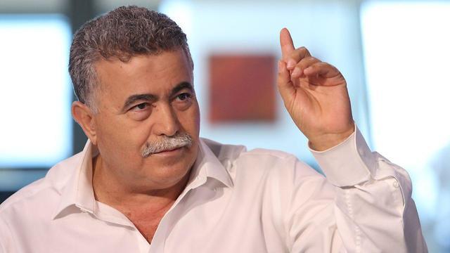 עמיר פרץ בריאיון ל ynet (צילום: אבי מועלם)