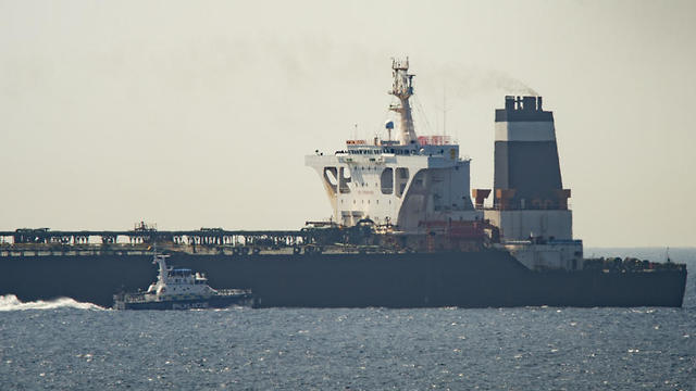 The Grace 1 oil tanker was seized off the coast of Gibraltar two weeks ago (Photo: AP)