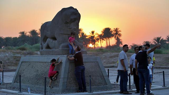 בבילון, העיר העתיקה בבבל (צילום: AP)