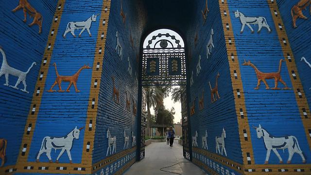 בבילון, העיר העתיקה בבבל (צילום: רויטרס)