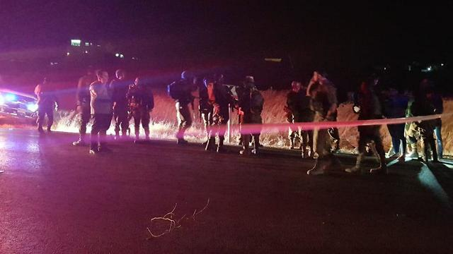 The scene of the car -ramming attack (Photo: TPS)