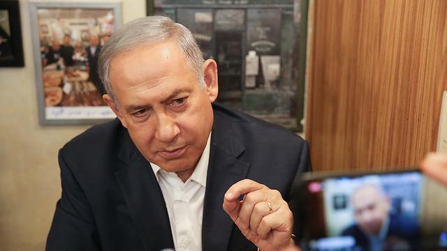 Prime Minister Benjamin Netanyahu (Photo: Amit Shaabi )