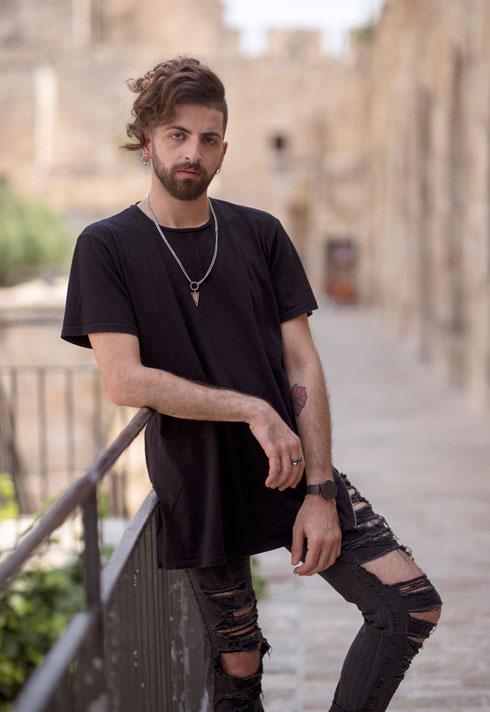 """""""אני פלסטיני? ישראלי? לא חייתי 100 אחוז כישראלי וגם לא 100 אחוז כפלסטיני"""". מג'לטון (צילום: ריקי רחמן)"""