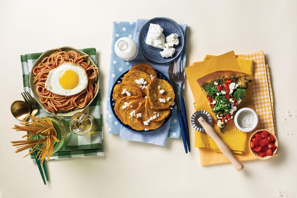 הגרסאות הבריאות לארוחות האהובות (צילום: בועז לביא, סגנון: נעה קרינק)