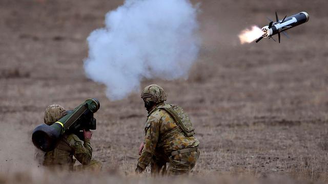 חיילים אוסטרליה אימון צבאי (צילום: AFP)