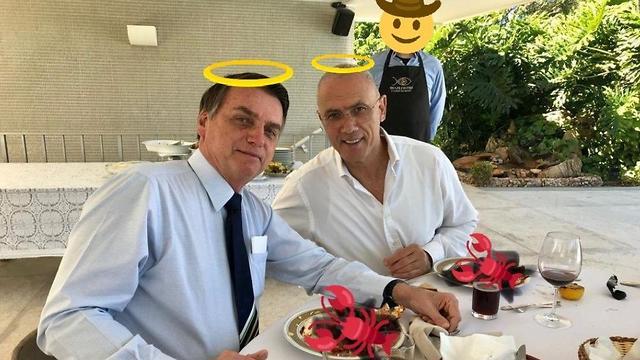 ממים ממ לובסטר שגריר ישראל ב ברזיל יוסי שלי ()