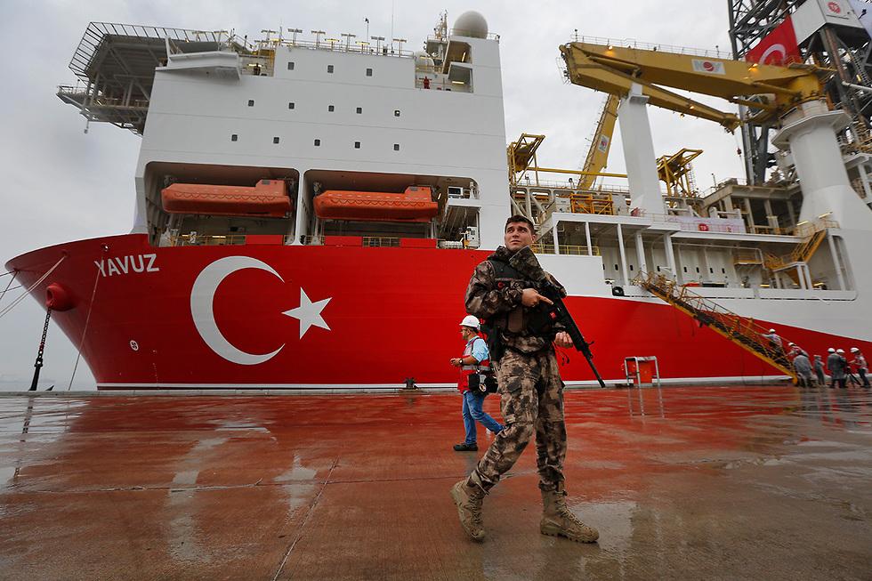 The Turkish Yavuz drillship (Photo: AP)