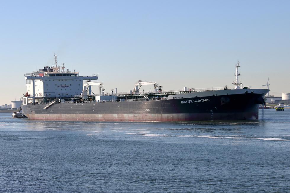 Британский танкер British Heritage . Фото: shutterstock (Photo: Shutterstock)