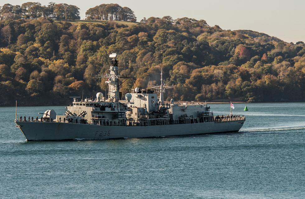 Фрегат HMS Montrose . Фото: shutterstock