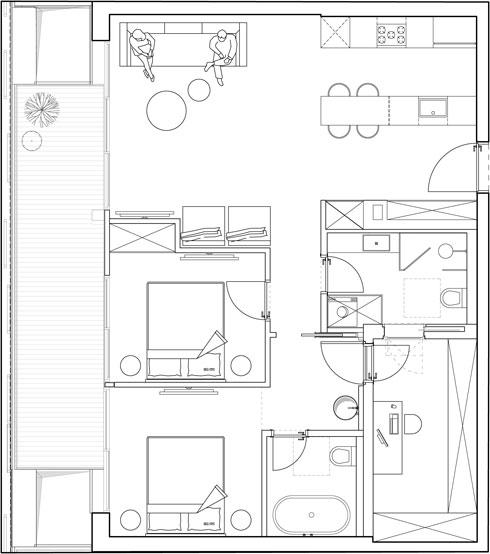 תוכנית הדירה (תוכנית: סטודיו מיכל האן)