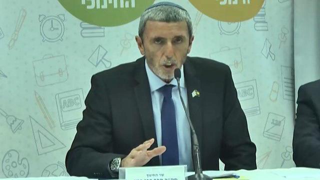 Education Minister Rafi Peretz