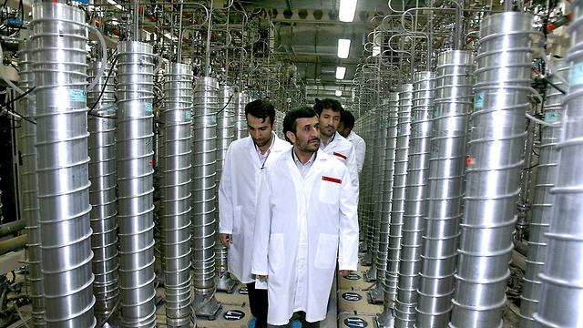 מתקן להעשרה גרעינית בפורדו (צילום: AP)