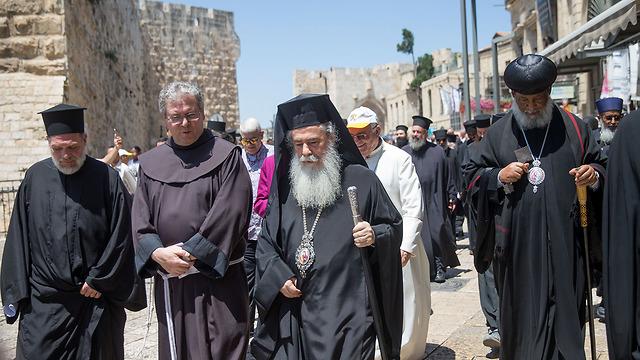 Greek Orthodox Patriarch, Theophilos III (Photo: Ohad Zwigenberg)