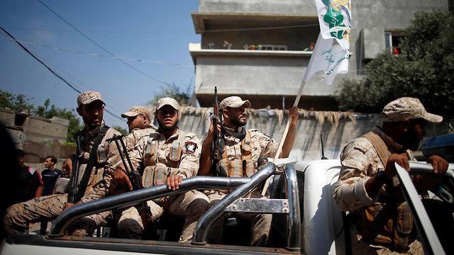 Hamas operatives in Gaza (Photo: Reuters)