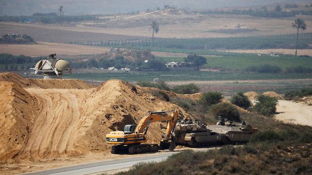 Israel-Gaza border (Photo: Reuters)