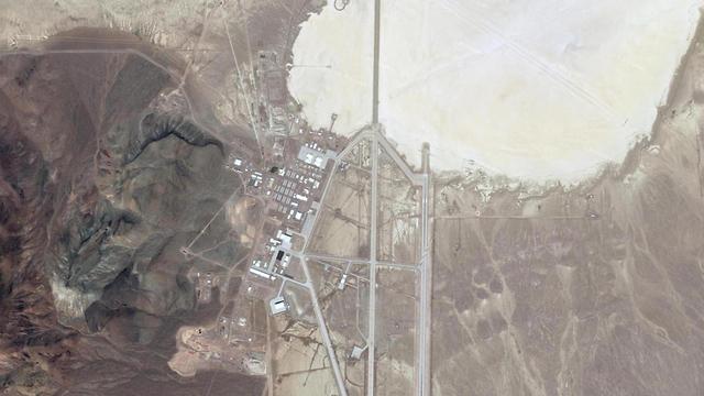 אזור 51 שטח צבאי סגור מדבר נבאדה ארה