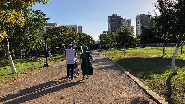 פארק עפולה ל תושבים בלבד (צילום: רויטרס)