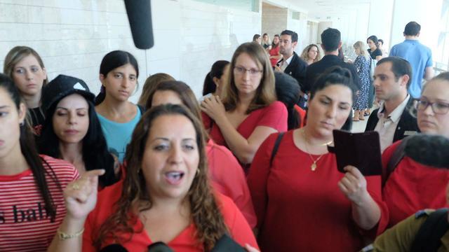 קהל בית משפט גזר דין  (צילום: שאול גולן)