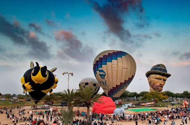 На фестивале воздушных шаров в Негеве. Фото: Тамара Коэн