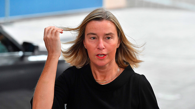 Federica Mogherini in Brussels on Monday (Photo: AFP)