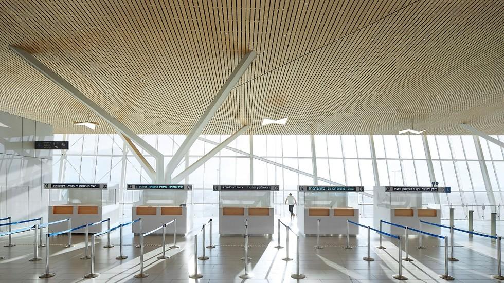 שדה התעופה רמון (צילום: Hufton+Crow)
