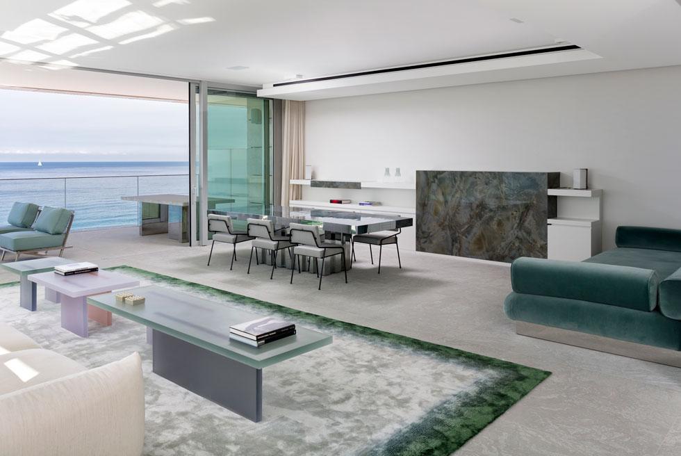 רצפת אבן גרניט טבעית, ''שיש פרביטל'' (עיצוב: הרשאגה שטרנברג אדריכלים בשיתוף איזבל סטניסלס, צילום: שי אפשטיין)