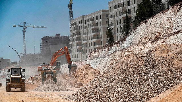 Строительство в Иерусалиме. Фото: AFP