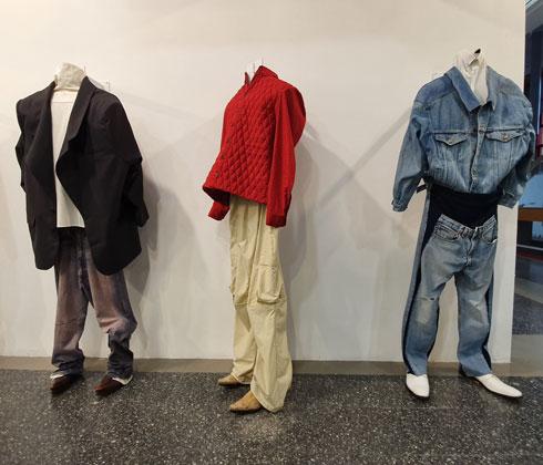 """סיפור אישי שיצר אופנה עכשווית. הפרויקט """"צווארון כחול"""" של דניאל כהן (צילום: איתי יעקב)"""