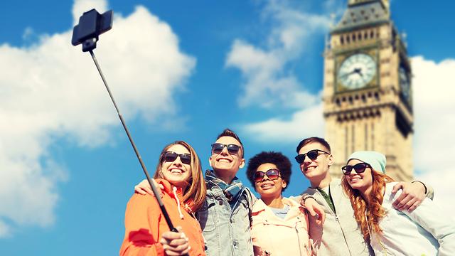 לונדון תיירים (צילום: shutterstock)