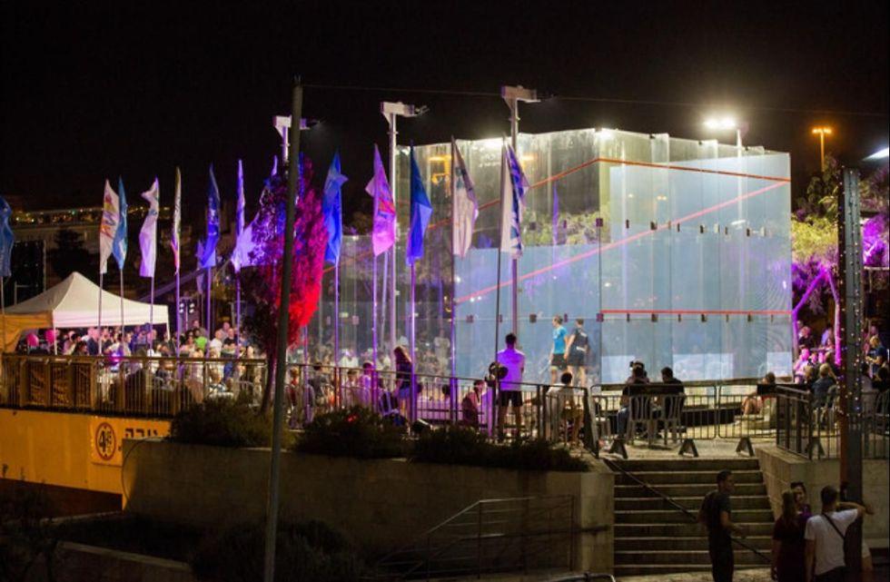 סקווש בירושלים (צילום: נמרוד אהרונוב)