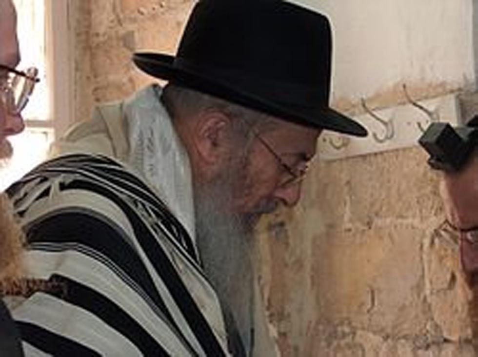 הרב צבי טאו (צילום: מיכאל יעקובסון)