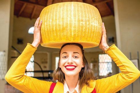 הגבינה האיטלקית. טיול שף קולינרי בארץ המגף  (צילום: Shutterstock)