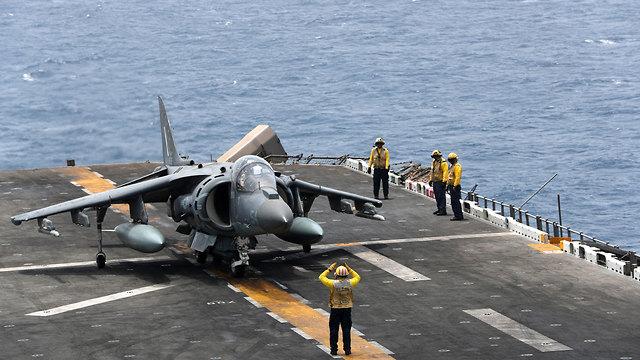The amphibious assault ship USS Boxer  (Photo: Reuters)