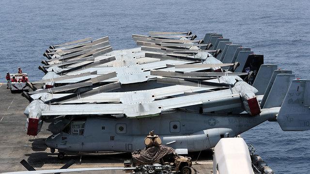 USS BOXER (צילום: רויטרס)