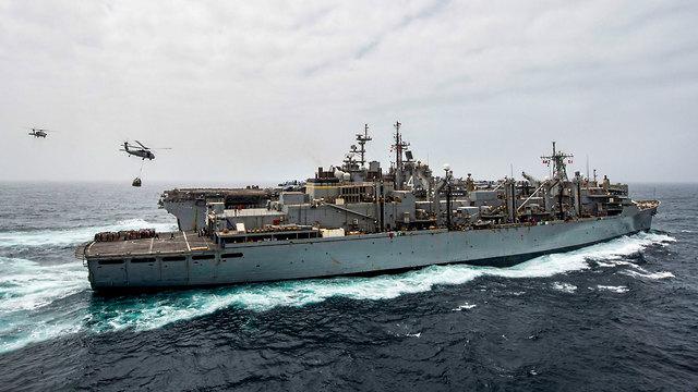 USS BOXER (צילום: AFP)
