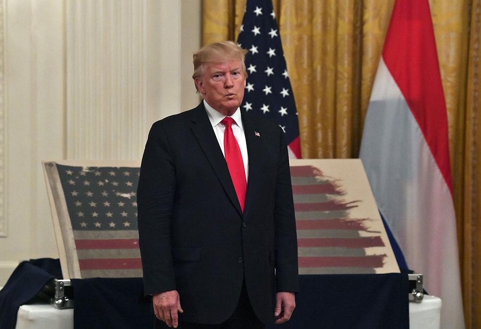 דונלד טראמפ (צילום: AFP)