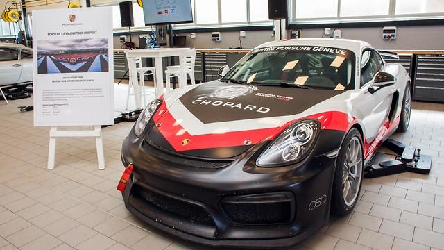 פורשה קאיימן GT מירוץ (אורי שדה)