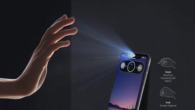 טלפון LG G8SThinQ גב (צילום: יח