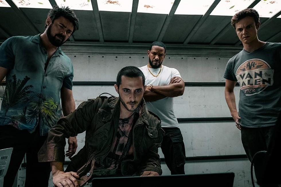 מתוך The Boys (צילום: Amazon Studios)