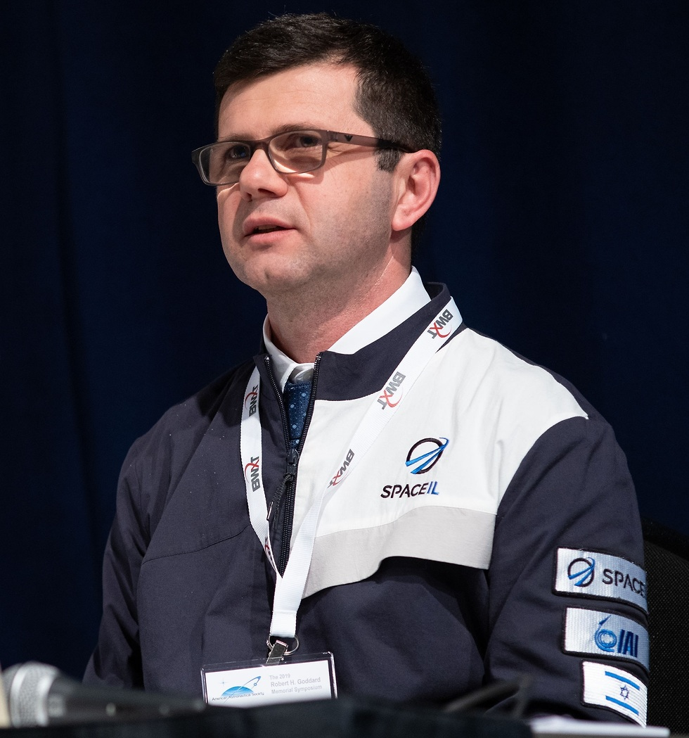 ערן שמידט, סגן מנהל SpaceIL (צילום: נאס