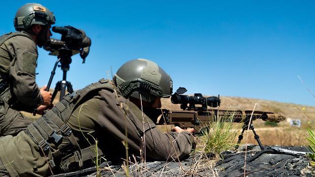 יום עיון כתבים צבאיים בית ספר לוחמה בטרור (צילום: דובר צה